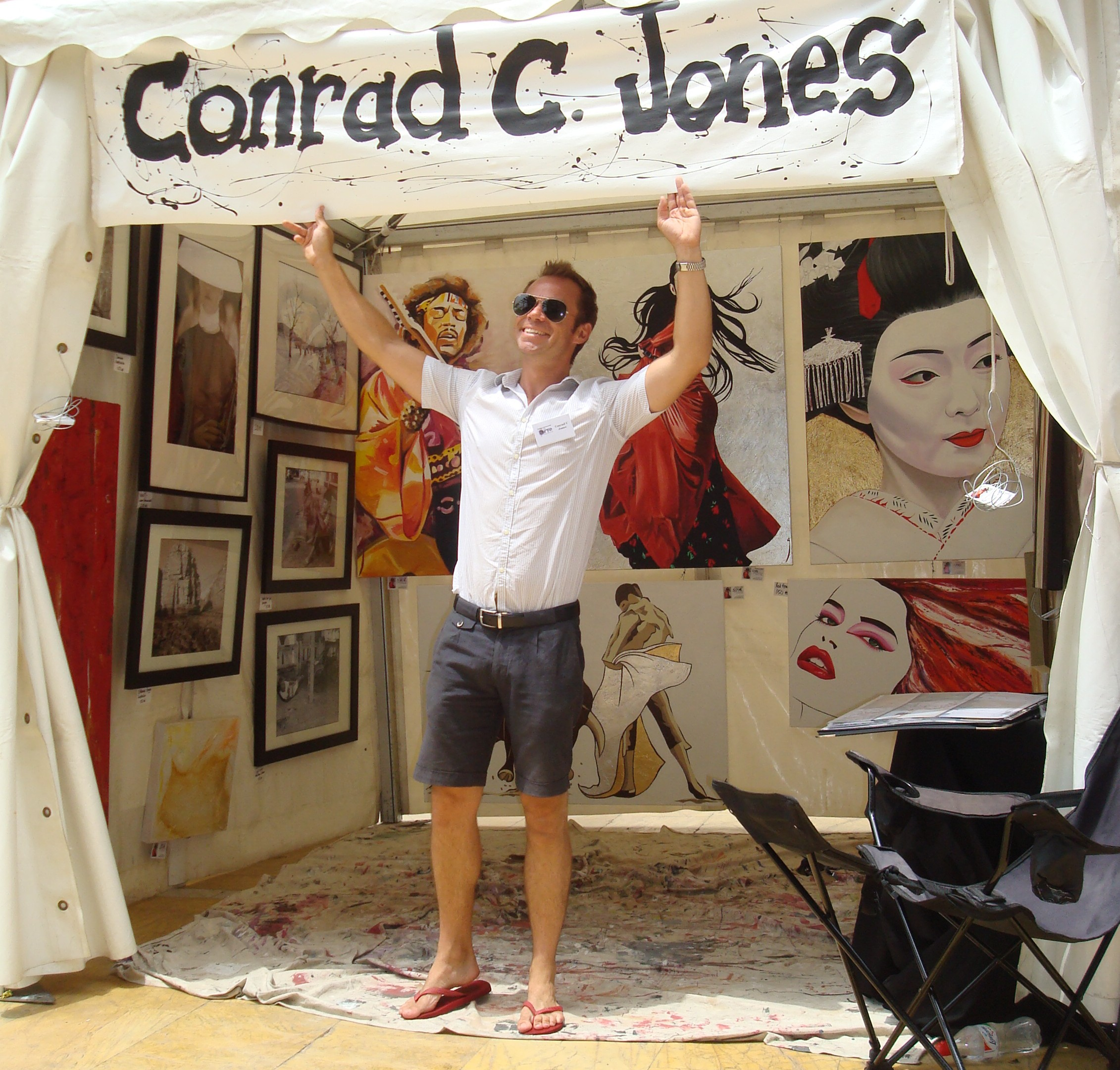 Conrad C Jones Marbella Art Fair June 2009 www.andrewforbes.com (6)