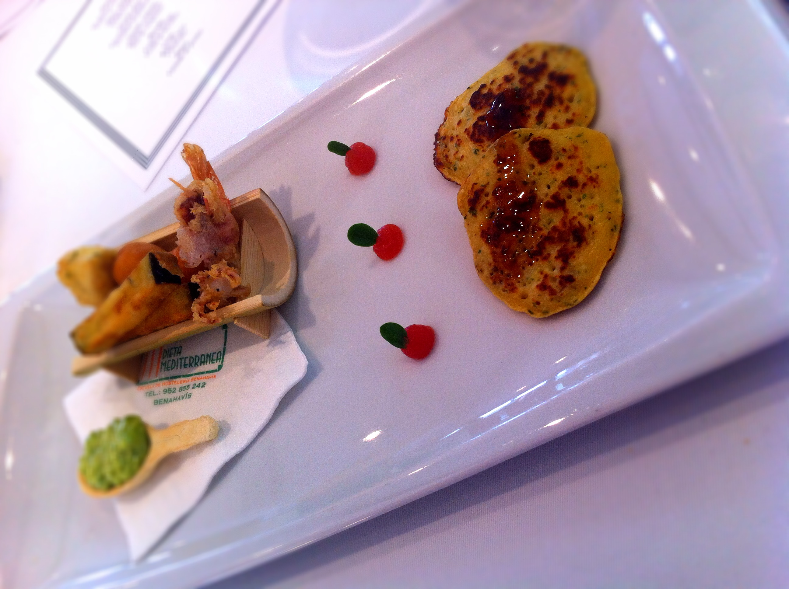 Escuela_Hosteria_Benahavis_de_la_dieta_Mediterranea_tasting_menu_andrew-forbes_fish course
